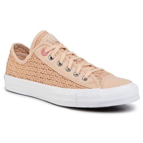 Converse Tenisówki - ctas ox 567657c shimmer/madder pink/white
