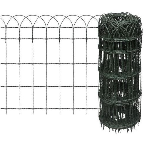 Rozwijane ogrodzenie trawnikowe 10 x 0,65 m, produkt marki vidaXL