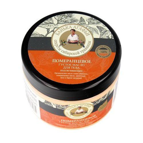 Bania agafii kąpiel agafii pomarańcza masło do ciała odżywcze, 300 ml (4630007831664)