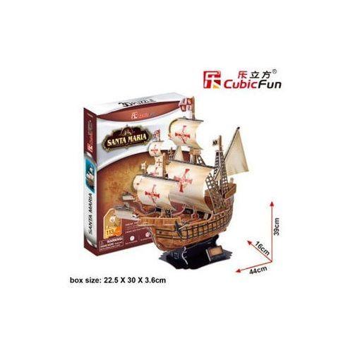Neuveden Puzzle 3d santa maria - 113 dílků