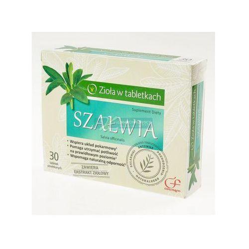 Tabletki Szałwia 50mg 30 tabletek Colfarm