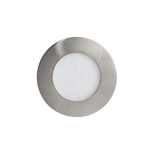 Eglo Oczko pineda-ip 96417 wpuszczane oprawa do wbudowania downlight 1x12w led nikiel mat (9002759964177)