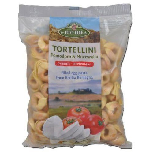 La bio Tortellini jajeczne z pomidorami i mozarellą bio 100 g- (8717496907073)
