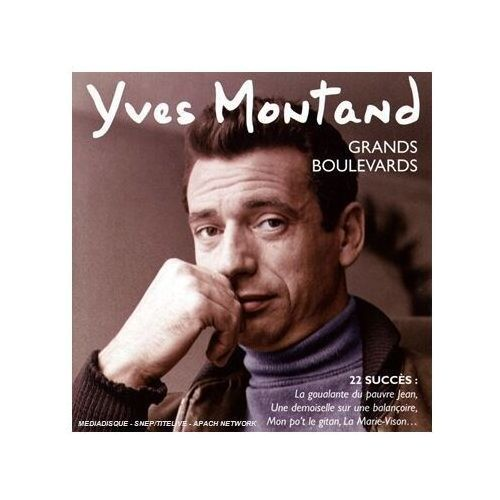 Yves Montand - GRANDS BOULEVARDS (BEST OF EARLY YEARS), BEC5772304