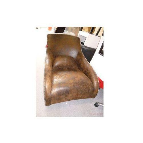 Modern Vintage Swing Ritmo Vintage Eco Fotel Brązowy Tkanina (77145), marki Kare Design do zakupu w sfmeble.pl
