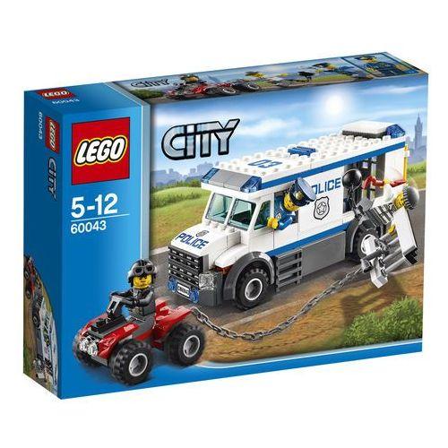 Lego City Furgonetka policyjna 60043 z kategorii: klocki dla dzieci