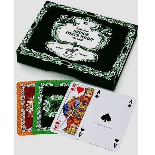 2 talie kart - Liście dębu Bridge Poker Whist