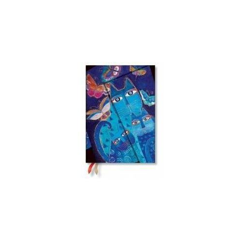 Paperblanks Kalendarz książkowy midi 2019 12m blue cast&butter