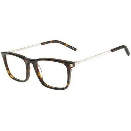 Okulary korekcyjne sl 112 002 marki Saint laurent