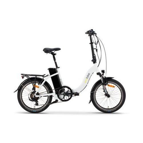 "Rower Elektryczny Ecobike Even White 15,5"", ecobike_even-white"