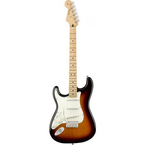 Fender player stratocaster left-handed mn 3-color sunburst gitara elektryczna leworęczna