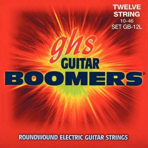 Ghs guitar boomers struny do gitary elektrycznej, 12-str. light,.010-.046