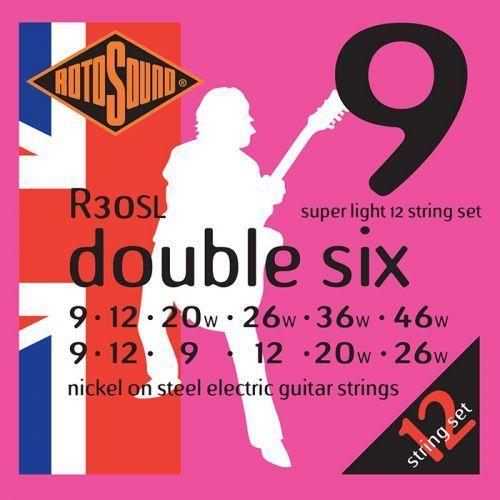 Rotosound R30SL struny do gitary elektrycznej 12-strunowej 9-46