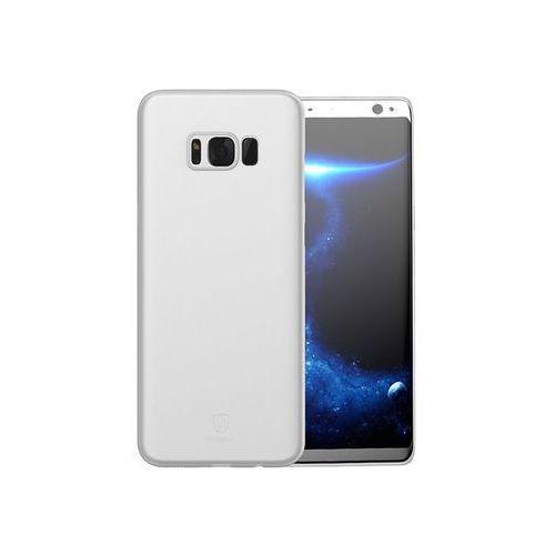 Etui Baseus Wing case do Samsung Galaxy S8+ Plus Białe - Biały, kolor biały