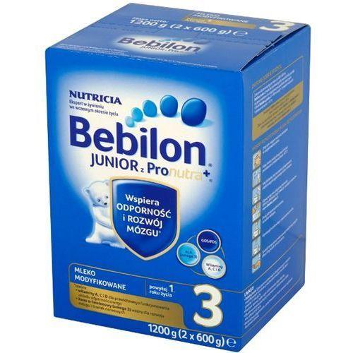 Zestaw 2x BEBILON 1200g Junior 3 z Pronutra Mleko modyfikowane po 12 miesiącu