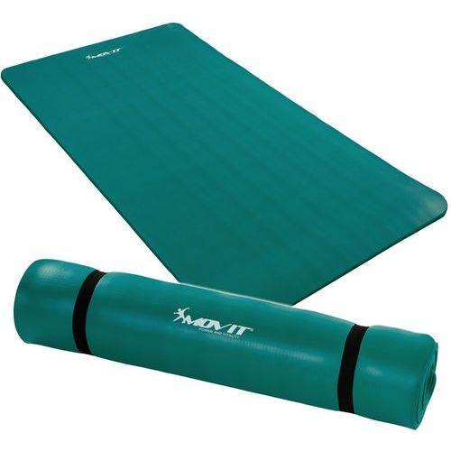 Movit ® Seledynowa mata piankowa 190x100x1,5cm do ćwiczeń / gimnastyki / fitness - seledynowy / 190x100x1,5 cm (20040381)