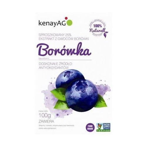 Borówka sproszkowany ekstrakt 100g marki Kenay ag