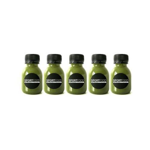 Zdrowy jak ryba - 5 shotów / soki coldpress / dostawa w 24h / detoks sokowy / dieta sokowa marki Sportfood