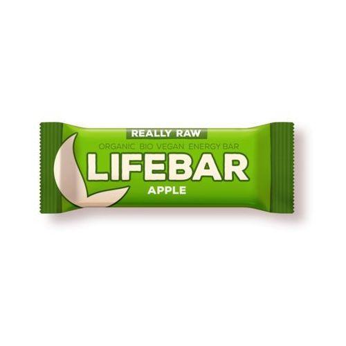 Lifefood (batony raw, syrop z jakonu) Baton jabłkowy raw bezglutenowy bio 47 g - lifefood