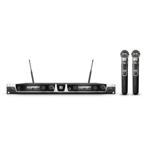 u506 uk hhd 2 mikrofon bezprzewodowy doręczny, podwójny marki Ld systems