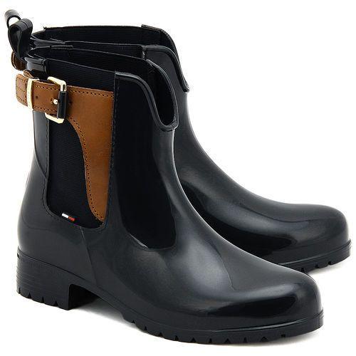 Oxley 2Z-1 - Granatowe Gumowe Kalosze Damskie - FW56820119 403 (kalosz damski) od MIVO Shoes Shop On-line