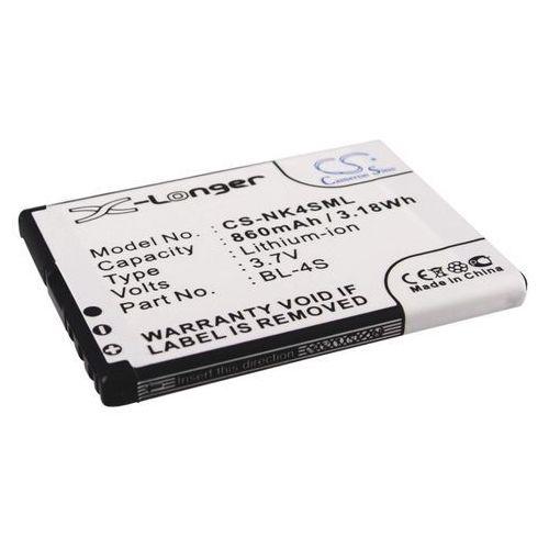 Nokia 2680 / bl-4s 860mah 3.18wh li-ion 3.7v () marki Cameron sino
