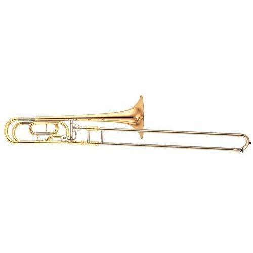 Yamaha ysl-448 ge puzon tenorowy bb/f, menzura l, lakierowany (z futerałem)