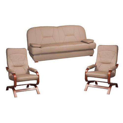 Zestaw wypoczynkowy wersalka Ilka S_3K + 2 fotele Nordi ES ze sklepu Black Red White
