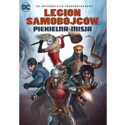 Dcu legion samobójców: piekielna misja (płyta dvd) marki Sam liu