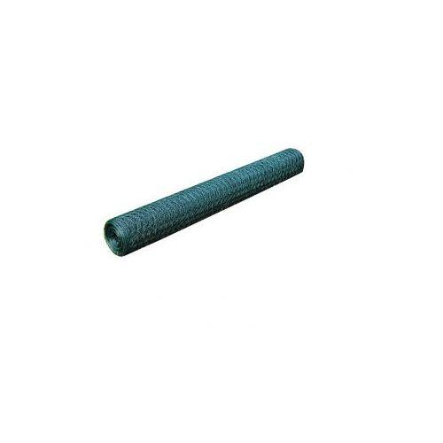 Siatka ogrodzeniowa Metal + PCV, rolka 1m x 25m. ze sklepu VidaXL