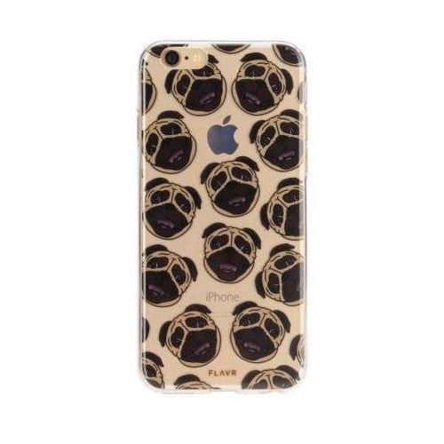 Etui iplate pugs do apple iphone 6/6s/7/8 wielokolorowy (26547) marki Flavr