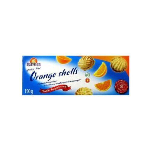 Balviten Herbatniki maślane z kremem pomarańczowym bezglutenowe (5907653102721)