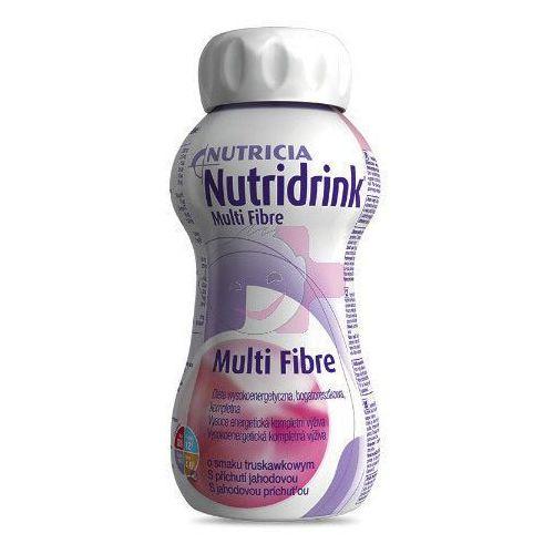 nutridrink multi fibre - truskawka - dieta bogatoresztkowa - 125ml marki Nutricia