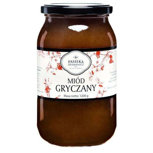 Miód gryczany 1,2kg – wyrazisty ostry smak. marki Sienkiewicz-pasieka