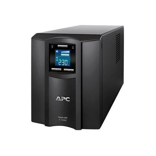 APC Smart-UPS C 1000VA LCD - UPS - AC 230 V - 600 Watt - 1000 VA - USB - output connectors: 8 - black, SMC1000I