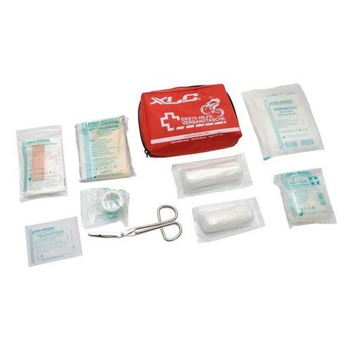 Xlc Apteczka pierwszej pomocy , czerwona, 150 x 50 x 100 mm, na rzep (4055149219376)