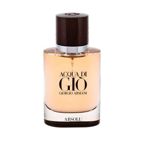 Giorgio Armani Acqua di Gio Absolu woda perfumowana 40 ml dla mężczyzn, 992895
