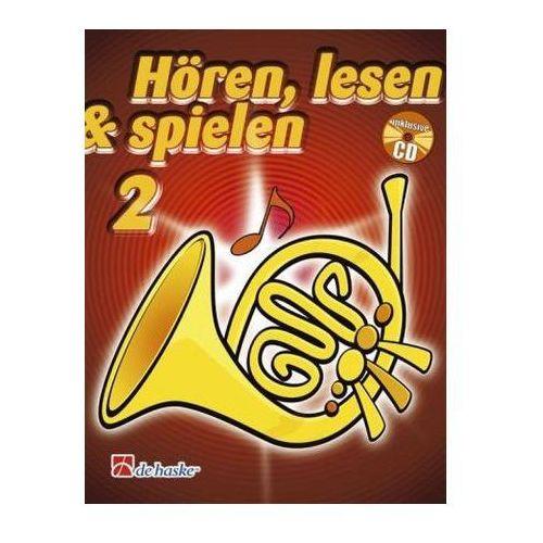 Hören, lesen & spielen, Schule für Horn in F, m. Audio-CD. Bd.2