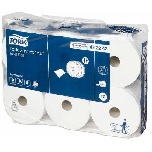 Papier toaletowy w roli Tork SmartOne® 6 szt. 2 warstwy 207 m biały