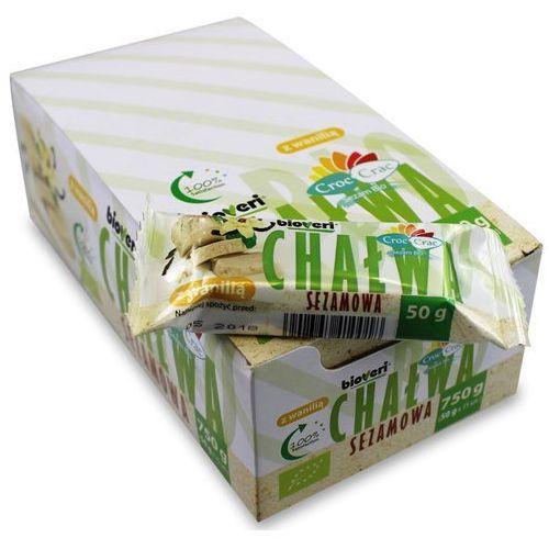 Chałwa sezamowa z wanilią 50g eko - croc crac marki Bioveri