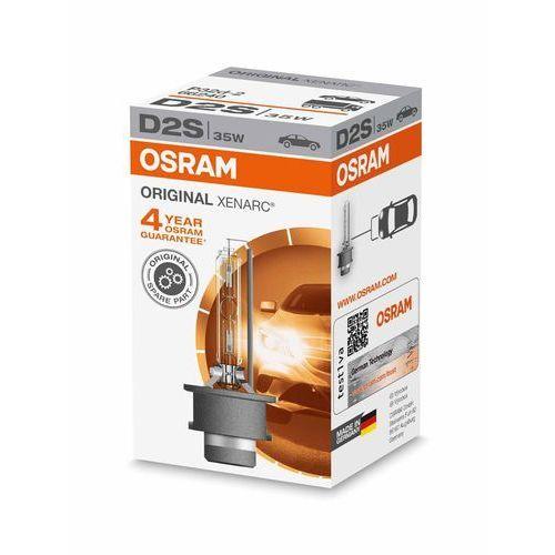 Osram Xenarc Original D2S HID Xenon nagrywarka, lampa wyładowcza, oryginalna, składane pudełko (4008321184573)