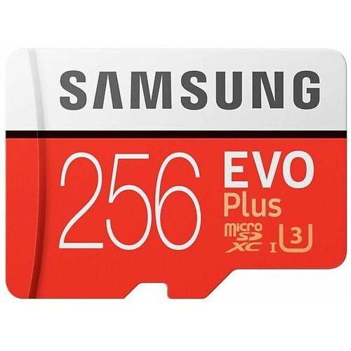 Karta pamięci evo plus 256gb microsd mb-mc256ha/eu + adapter sd marki Samsung