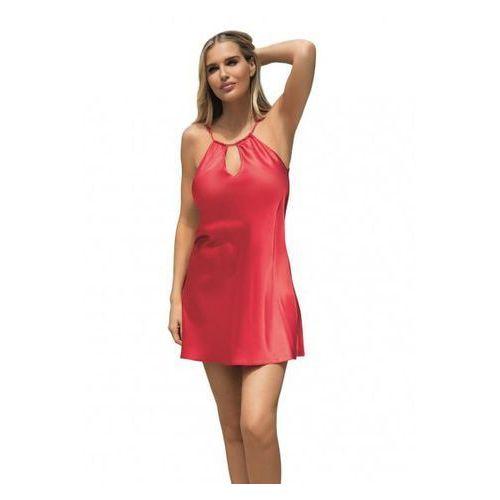 cortney czerwona koszula nocna marki Dkaren