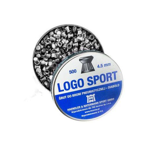 Śrut 4,5mm Diabolo Logo Sport płaski 500 szt H&N, 1227