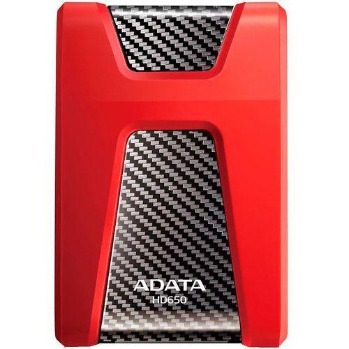 Adata Dashdrive durable hd650 1tb 2.5'' usb3.0 red (4713435799130)