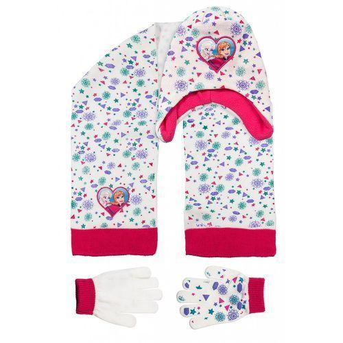 Komplet czapka szalik rękawiczki 3x35ag marki Frozen