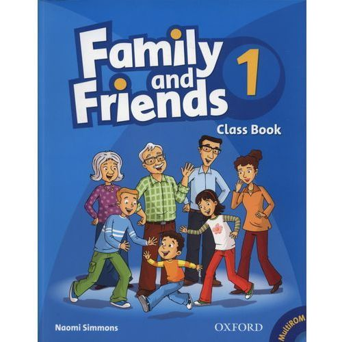 Family and Friends 1 Classbook with MultiROM, Naomi Simmons