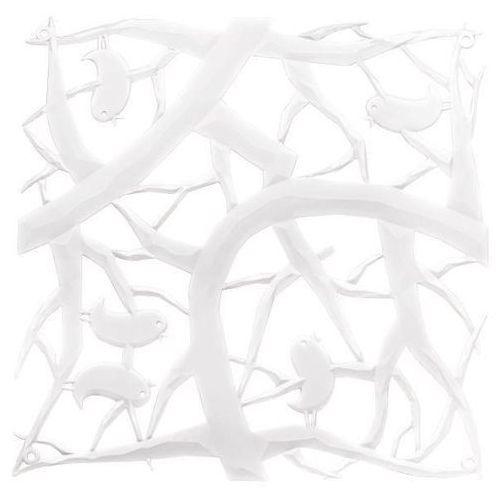 Koziol Panel dekoracyjny pi:p - 4 sztuki w komplecie - kolor biały,