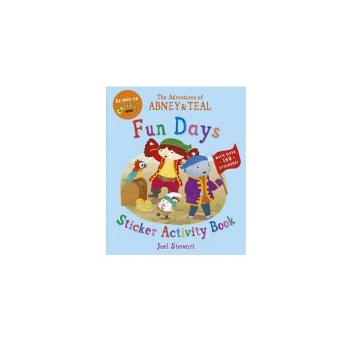 Adventures of Abney & Teal: Fun Days Sticker Activity Book