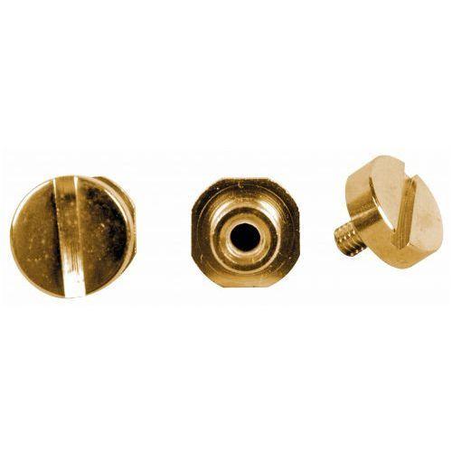 TonePros SGS1-G - Locking Studs, części mostka do gitary, złote